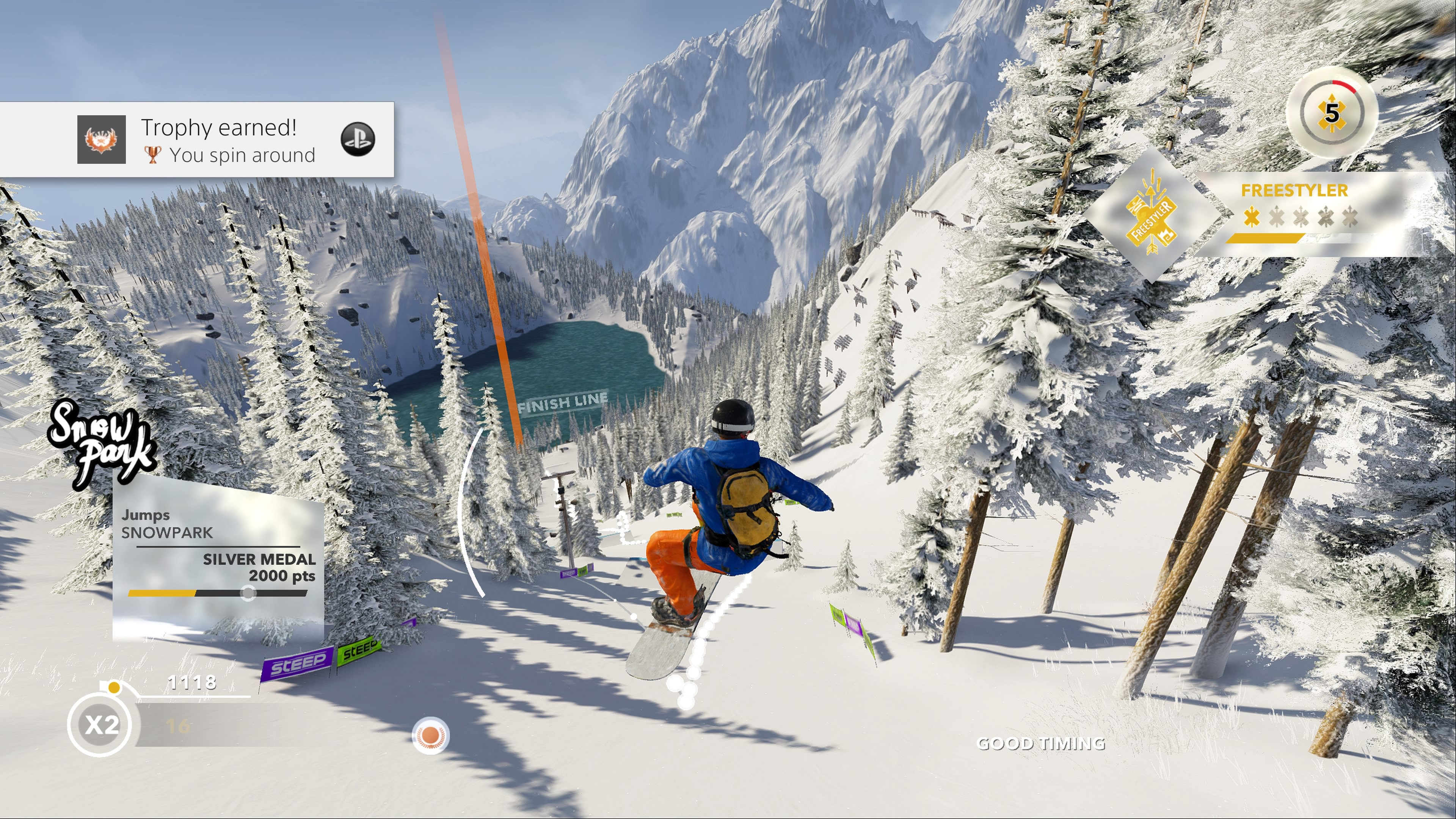 steep free play